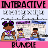Interactive Apraxia Notebooks {Growing Bundle for Speech Therapy}
