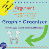 Interactive Argument Essay Graphic Organizer