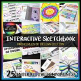 Interactive Art Sketchbook: Principles of Design