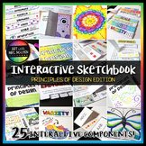 Interactive Art Sketchbook: Principles of Design