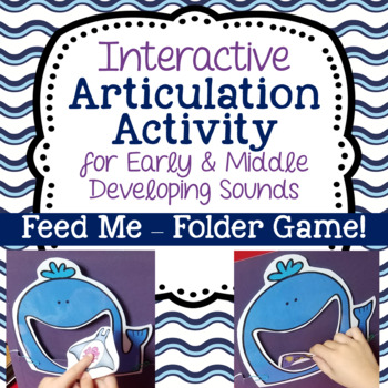 Interactive Articulation Activity for Early & Middle Developing Sounds