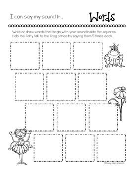 Interactive Articulation Binder 3: /f, v, k, g/