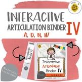 Interactive Articulation Binder 4: /t, d, n, h/