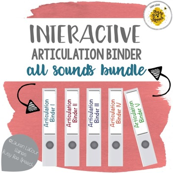 Interactive Articulation Binder GROWING Bundle