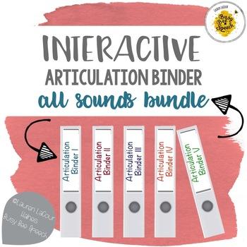 Interactive Articulation Binder BUNDLE