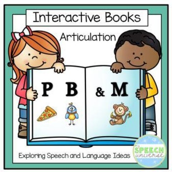 Articulation Interactive Books: P, B, and M