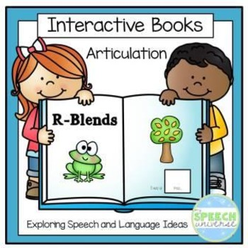 Articulation Interactive Books: R-Blends
