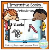 Articulation Interactive Books: S-Blends