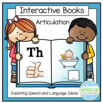 Articulation Interactive Books: Th