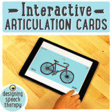Interactive Articulation Cards for Speech Therapy
