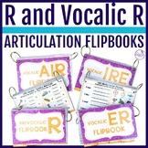 Interactive Articulation FLIPBOOKS For /r/