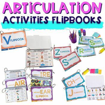 Interactive Articulation Flip Book BUNDLE
