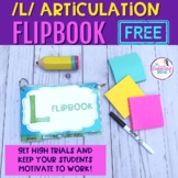 Interactive Articulation Flip Books For L- FREE Resource with editable slides