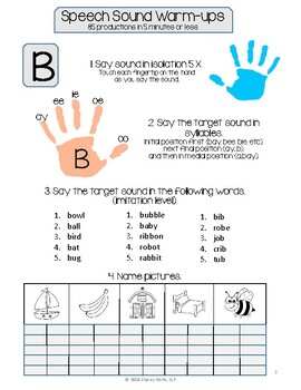 Interactive Articulation Notebook - early developing sounds
