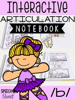 Interactive Articulation Notebook for /b/
