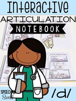 Interactive Articulation Notebook for /d/