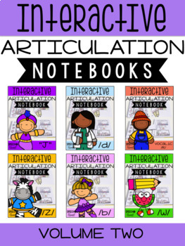 Interactive Articulation Notebooks Volume Two {A Growing Bundle!}