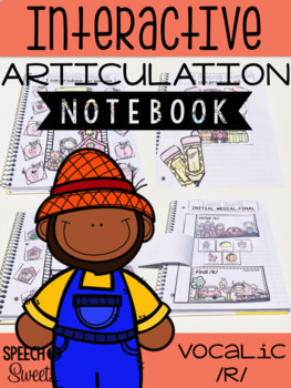 Interactive Articulation Notebooks Bundle Volume Two for Speech Therapy