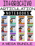 Interactive Articulation Notebooks Bundle for Speech Therapy