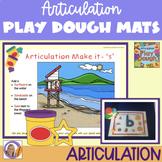 Interactive Articulation Play Dough Mats