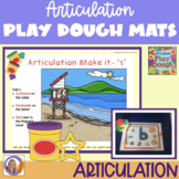 Interactive Articulation Play Dough Mats
