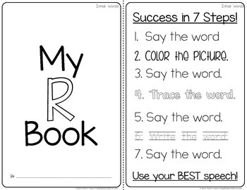 Articulation Homework Readers for Speech Therapy (R Edition)
