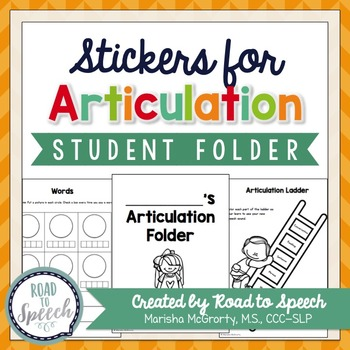 Interactive Articulation Stickers {Student Folder Pack}