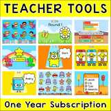 Teacher Tools 1 Year Subscription - Attendance, Rotation Timer, Student Picker