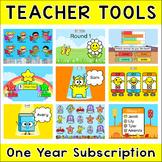 Teacher Tools 1 Year Subscription - Attendance, Rotation Timer, Student Picker