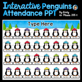 Penguins Interactive Attendance PowerPoint