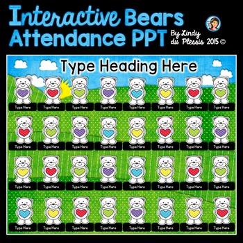 February Interactive Attendance