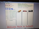 Interactive Attendance, Transportation, Lunch choice, Morning notes