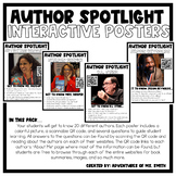 Interactive Author Posters & Google Slides Pack!