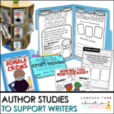 Interactive Author Study Folders
