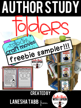 Author Study Folders FREE SAMPLE!