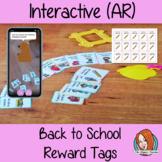 Interactive Back to School Reward Tags