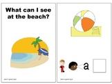 Interactive Beach Vocabulary Book