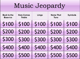 Interactive Beginner Music Jeopardy Game