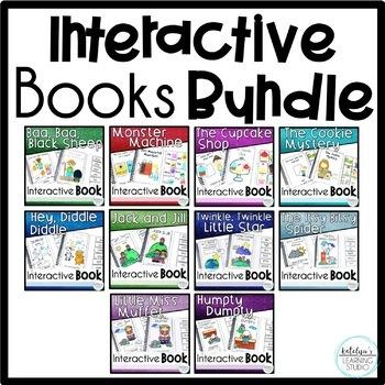 Interactive Beginning Reading Books Mega Bundle