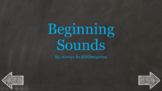 Interactive Beginning Sounds Game