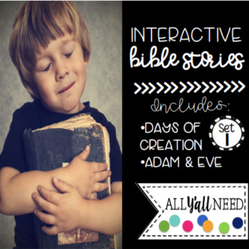 Interactive Bible Stories, Set 1: Days of Creation and Adam & Eve