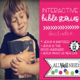 Interactive Bible Stories, Set 12: Jesus is Baptized, Good