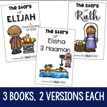 Interactive Bible Stories, Set 2: Ruth, Elijah, & Elisha