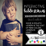 Bible Stories for Special Needs Ministry: David & Goliath and Joseph