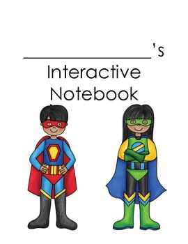 Interactive Binder Cover and Divider Pages
