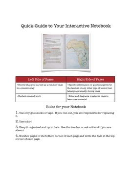 Interactive Binder Student How-To Pages