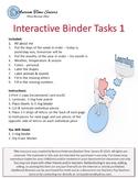 Interactive Binder Tasks 1