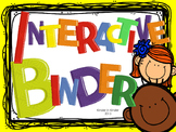 Interactive Binder for Routines and Early Learning Skills