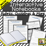 Interactive Notebooks for Math