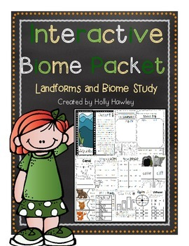 Interactive Biome Packet- a landform and biome study